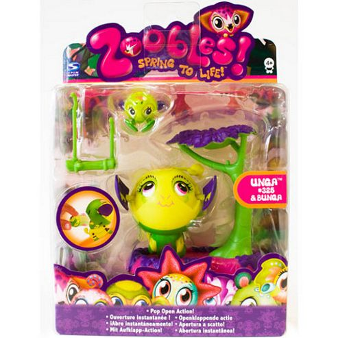 Zoobles Mama and Zoobling - Unga and Bunga