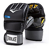 Everlast PU Evergel Heavy Boxing Bag Gloves - Black