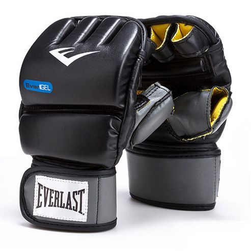 Everlast PU Evergel Heavy Boxing Bag Gloves - S/M