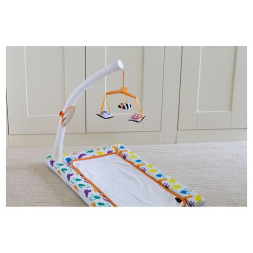By Carla Changing Mat With Baby Activity Arc Playtime , White