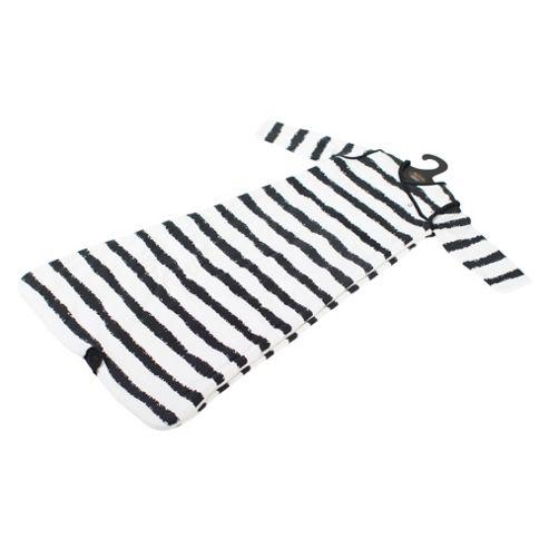By Carla Long Sleeve Baby Sleeping Bag 2.5 Tog Nougat 6-18 Months, Stripes
