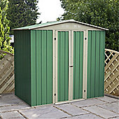 6ft x 4ft Value Apex Metal Shed (2.04m x 1.31m) + Free Anchor Kit