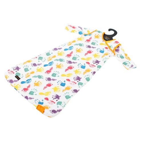 By Carla Long Sleeve Baby Sleeping Bag, 2.5 Tog, 6-18 Months, Print