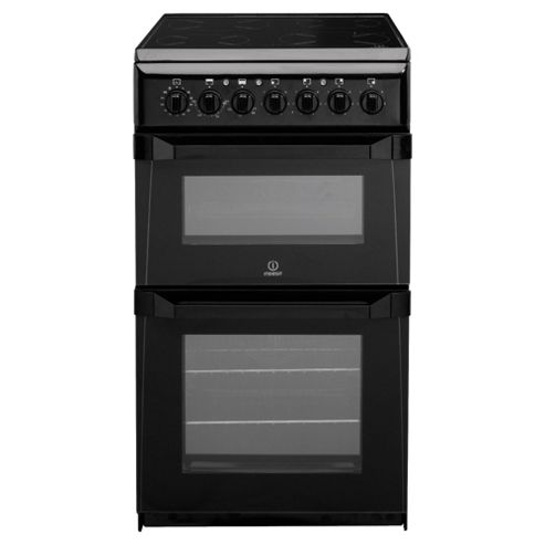 Indesit ID50C1K  Electric Cooker, Black