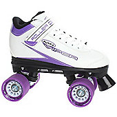Roller Derby Roller Derby Mens/Womens Viper M-4 Quad Roller Skates Black Or White UK4 - UK11 - White