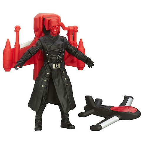 Captain America Super Soldier Gear - Air Raid Red Skull 9.5cm
