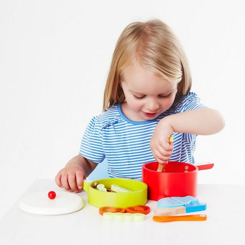 ELC Wooden Pot and Pan