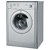 Indesit IDV75S Vented Tumble Dryer, 7Kg Load, C Energy Rating, Silver
