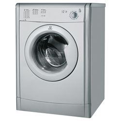Indesit IDV75S Vented Tumble Dryer, 7kg Load, C Energy Rating. Silver