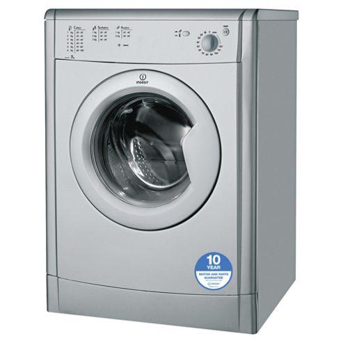 Indesit Ecotime Tumble Dryer, IDV75S, 7KG Load, Silver