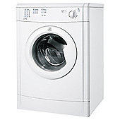Indesit IDV75 Vented Tumble Dryer, 7Kg Load, B Energy Rating, White