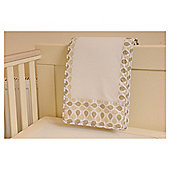 PurFlo Purair Breathable Cot Bumper Autumn Leaf, Baby, Cream