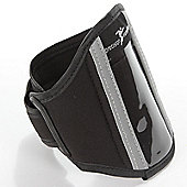 Precision Running MP3 Arm Wallet Black with Reflective Detail for MP3 & Phones