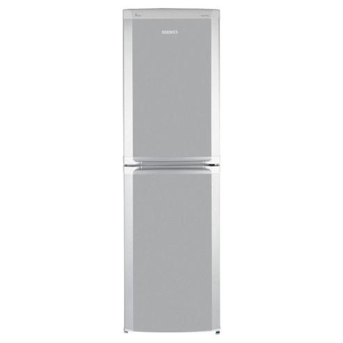 Beko CDA543S Frost Free Fridge Freezer, Energy Rating A, Width 54.5cm. Silver