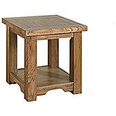 Kelburn Furniture Toulouse Lamp Table in Medium Oak Stain and Satin Lacquer
