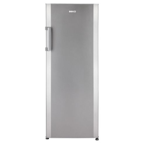Beko TL654S Tall Larder Fridge, Capacity 311 Litres, Energy Rating A, Width 60.5cm. Silver