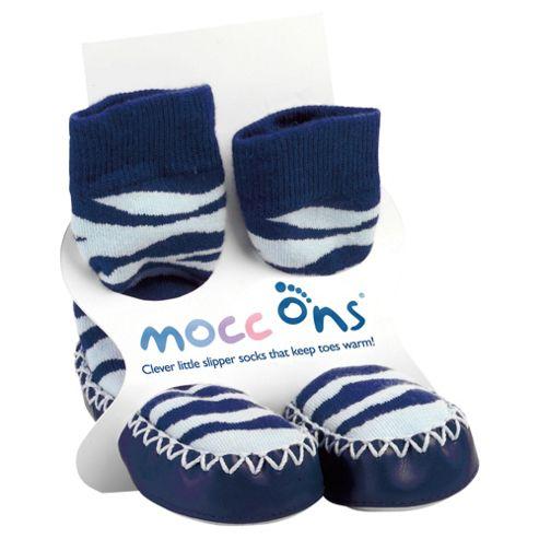 Mocc Ons Zebra 12-18 months