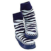 Mocc Ons Zebra 18-24 months