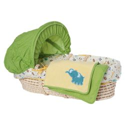 Kids Line ABC123 Moses Basket