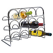 Hahn 12 Bottle Wine rack, Chrome