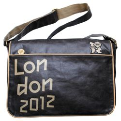 London 2012 Olympics Messenger Bag, Brown