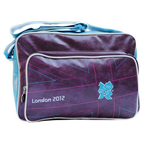 London 2012 Olympics Union Jack Flight Bag, Aubergine