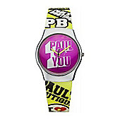 Paul's Boutique Betsy Ladies Rubber Watch PA016SLYL