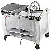 Graco Contour Storage Travel Cot - Graffix Grey