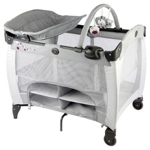 Graco Contour Storage Travel Cot, Graffix
