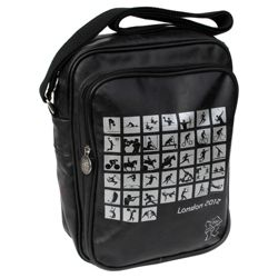 London 2012 Olympics Pictogram Flight Bag, Black
