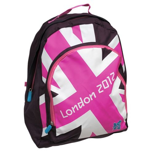London 2012 Olympics Union Jack Backpack, Pink
