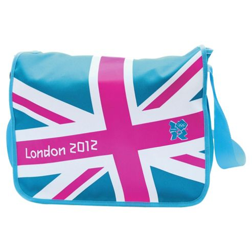 London 2012 Olympics Union Jack Messenger Bag, Pink