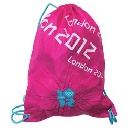 London 2012 Olympics Gym Bag, Pink