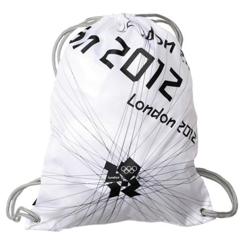 London 2012 Olympics Gym Bag, White