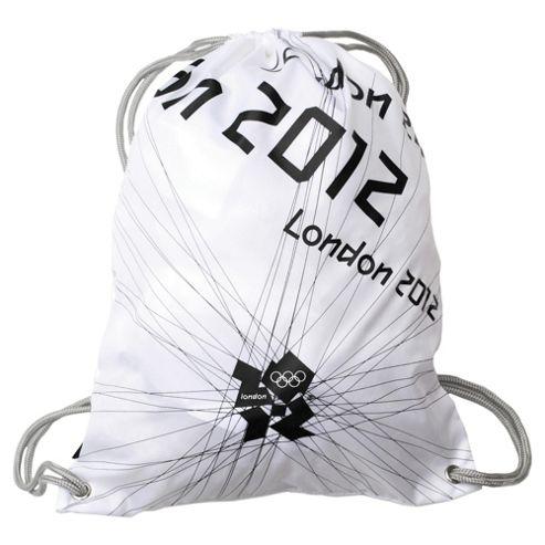 London 2012 Olympics Gym Bag, White