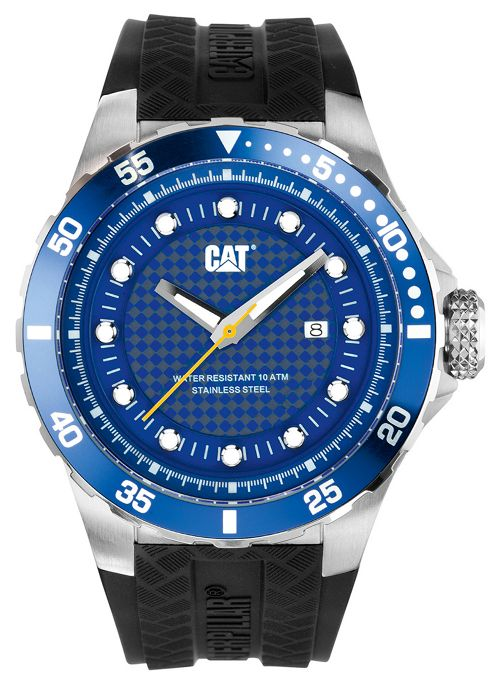 CAT P52 Sport Mens Date Display Watch - YN.141.21.126
