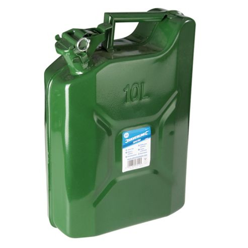 Toolstream Silverline Jerry Can 10L
