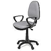 Hispanohogar Office Chair - Grey