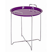 Urbane Designs Side Table - Violet