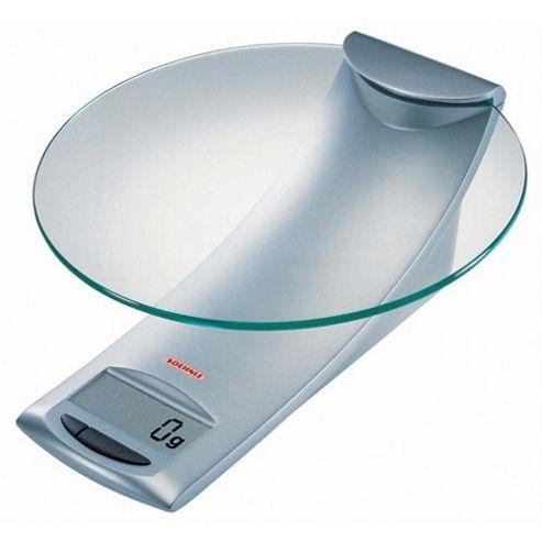 Soehnle 5 kg Model Digital Kitchen Scale in Silver