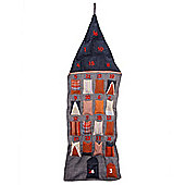 Contemporary House Hanging Advent Calendar for Christmas