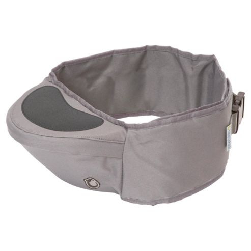 Hippychick Hipseat Baby Carrier, Cool Grey