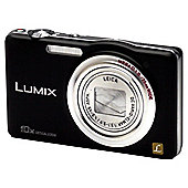 "Panasonic SZ1 Compact System Camera Kit 3"" LCD, Black"