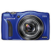 "Fujifilm FinePix F770EXR Digital Camera, Blue, 16MP, 20x Optical Zoom, 3"" LCD Screen"