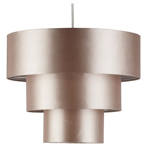 Louisa 3 Tier Drum Pendant Shade Champagne