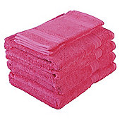 Tesco Towel Bale Raspberry