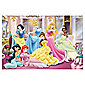 Jumbo Games Disney Princess 24 Piece Jigsaw Puzzle & Colour Bag (Incl. Crayons)