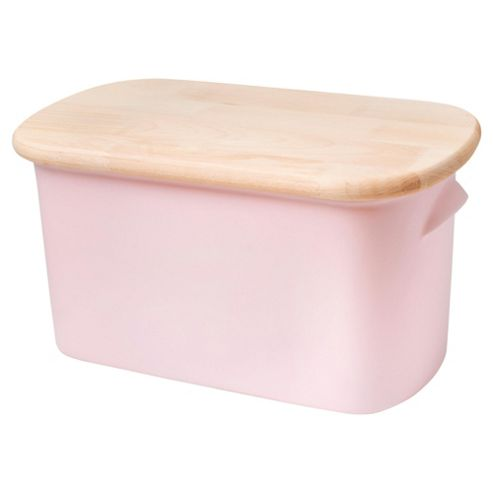 Nigella Lawson Living Kitchen Bread Bin, Rosebud