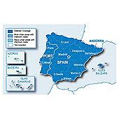 Garmin Spain and Portugal Maps microSD/SD card
