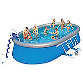 20Ft Oval Fast Set Pool